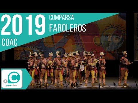 La agrupación Faroleros llega al COAC 2019 en la modalidad de Comparsas. Primera actuación de la agrupación para esta modalidad.