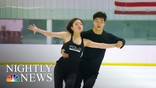 After placing 9th in Sochi, the Shib Sibs are back to compete in PyeongChang | NBC Nightly News - NBCNEWS