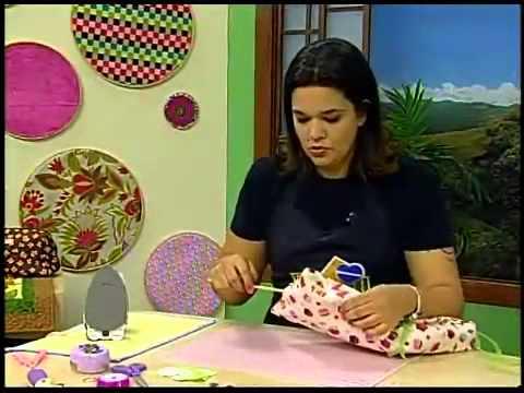 Programa Arte Brasil - 05/03/2014 - Renata Silva - Porta Correspondência