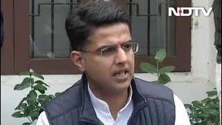 राजस्थान में कांग्रेस पूर्ण बहुमत की ओर बढ़ रही है: सचिन पायलट - NDTVINDIA