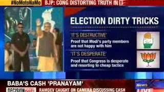 BJP: Congress distorting truth in desperation - NEWSXLIVE