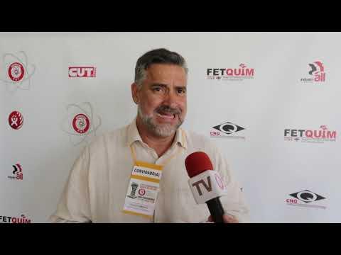 Deputado Paulo Pimenta no 13º Congresso dos Químicos do ABC