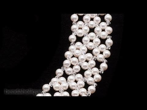 How to do an Ornate Right Angle Weave in Bead Weaving