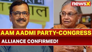 AAP and Congress Alliance Confirmed; AAP to Contest 4 Seats, Congress to Contest 3 Seats: Sources - NEWSXLIVE