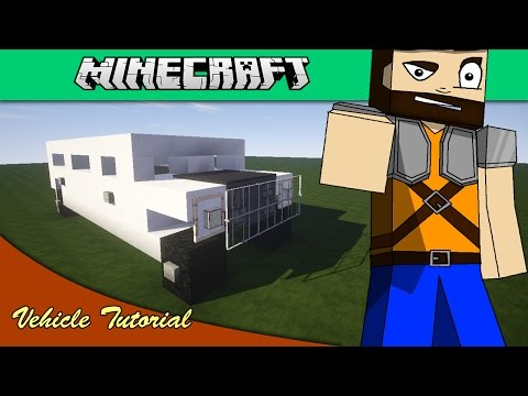 Minecraft Vehicle Tutorial - Hummer Limousine