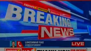 TDP MPs protest at Gandhi Statue outside Parliament; demanding special status for AP - NEWSXLIVE