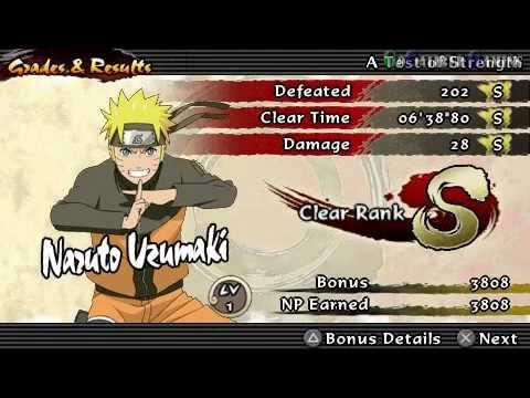 Naruto Shippuden: Ultimate Ninja Impact - part 3 Walkthrough - A Test of Strength