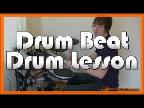 """Closer To The Edge"" How To Play Drum Beat  (30 Seconds To Mars) - Drum Lesson"