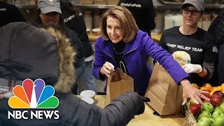 Nancy Pelosi: President Donald Trump Shouldn't Hold Workers 'Hostage' In Shutdown | NBC News - NBCNEWS