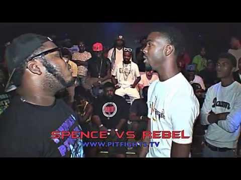 PIT FIGHTS BATTLE LEAGUE: SPENCE VS REBEL: DDA2