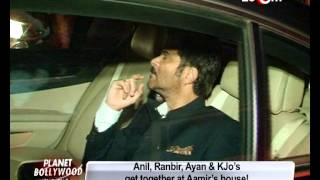 Bollywood Stars at Aamir Khan's House Party! - EXCLUSIVE