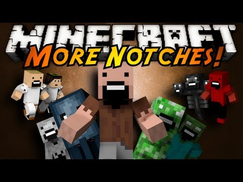 Minecraft Mod Showcase : MORE NOTCHES!