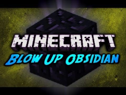 Minecraft Blow Up Obsidian w TNT