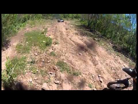 Queda de moto Vstron 1000cc