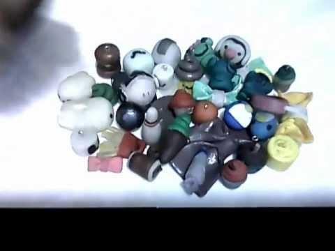 Algunas cositas que hice con Ceramica en Frio :D