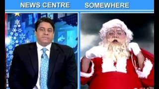 TWTW: Cyrus Broacha in conversation with Santa Claus - IBNLIVE