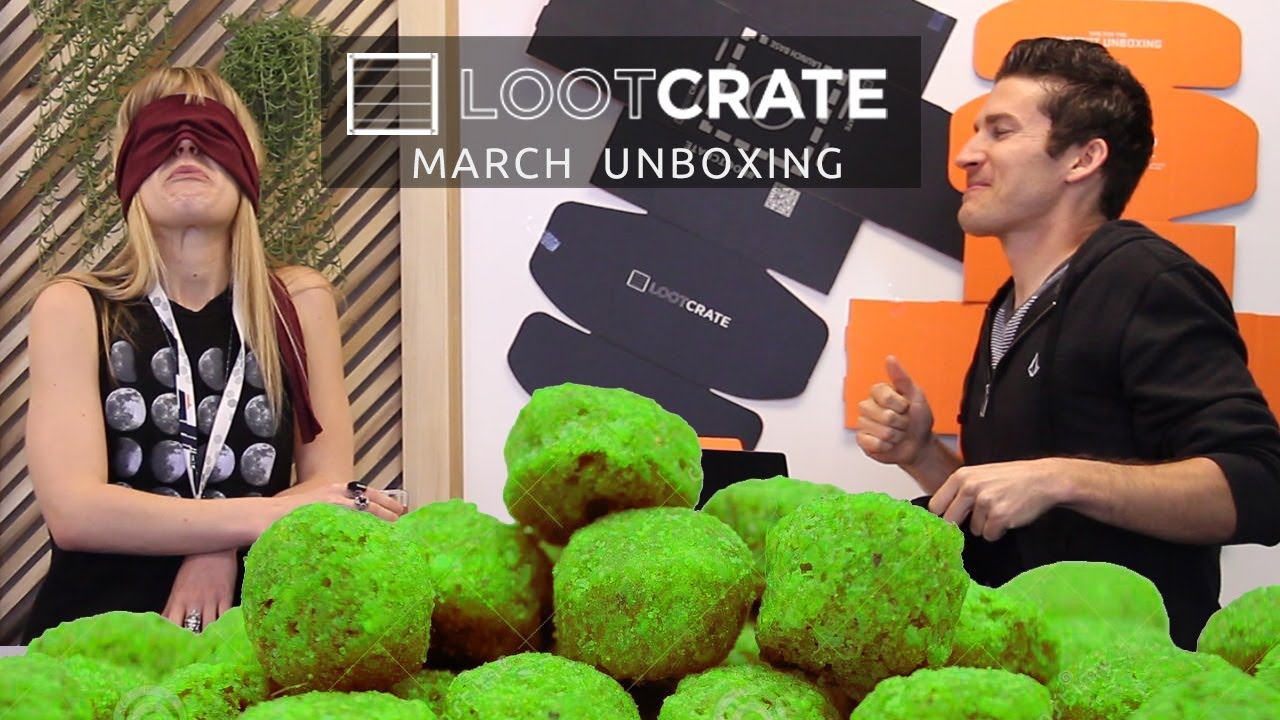 Loot Crate Unboxing - Jalapeno Dog Food - March 2014