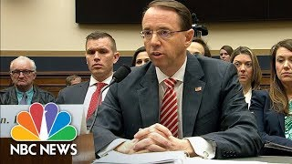 Deputy AG Rod Rosenstein: I've Seen No Good Cause To Fire Special Counsel Robert Mueller | NBC News - NBCNEWS