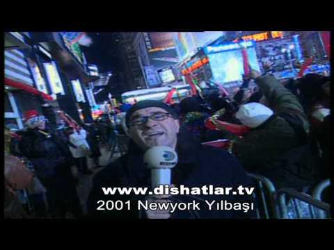 DiSHATLAR 2001 Newyork Yılbası Kutluyor