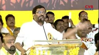 AP Minister Somireddy Chandramohan Reddy Speech In Porata Deeksha At Proddatur | CVR News - CVRNEWSOFFICIAL