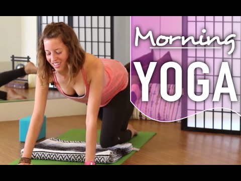 Morning Yoga - Quick 10 Minute Wake Up Flow.