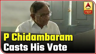 Lok Sabha Elections: P Chidambaram casts his vote - ABPNEWSTV