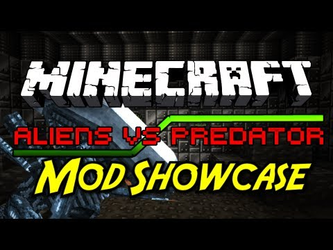 Minecraft Mod Showcase: Aliens vs. Predator! [9 NEW MOBS, NEW ARMOR, WEAPONS]