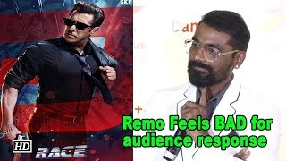 Remo Feels BAD for audience response on Salman's 'Race 3' - IANSLIVE