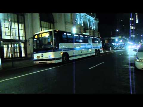 MTA New York City Bus 2011 Prevost Car X3-45 #2436 & #2439 on Route x1 EXPRESS