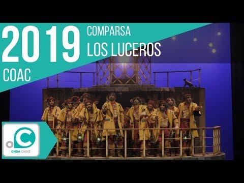 Sesión de Preliminares, la agrupación Los luceros actúa hoy en la modalidad de Comparsas.