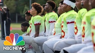 United We Kneel: Teens Use Football To Protest Police Brutality | NBC News - NBCNEWS