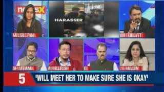 Chennai creep show: Harassment with north-eastern woman caught on cam Chennai stadium — Nation at 9 - NEWSXLIVE