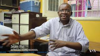 African Refugee School in Cairo Struggles to Educate Children - VOAVIDEO