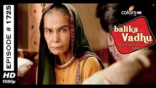 Balika Vadhu : Episode 1717 - 29th October 2014