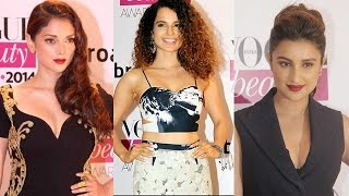 Parineeti Chopra, Kangna Ranaut, Kriti Sanon at a fashion event | Bollywood News