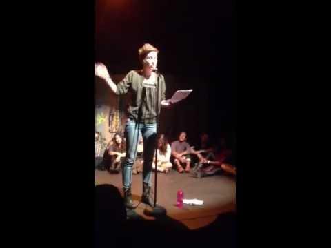 Carrie Rudzinski Live at Da Poetry Lounge 9/25/12