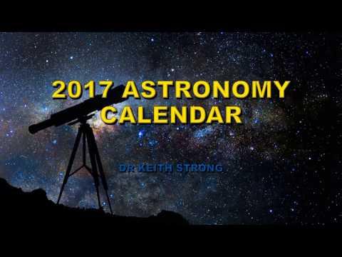 2017 ASTRONOMY EVENTS CALENDAR