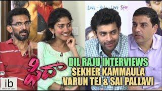 Dil Raju interviews Fidaa team   Varun Tej   Sai Pallavi - idlebrain.com - IDLEBRAINLIVE