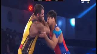 PWL 3 Day 11: Georgi Ketoev Vs Vicky Chahar at Pro Wrestling League 2018   Highlights - ITVNEWSINDIA