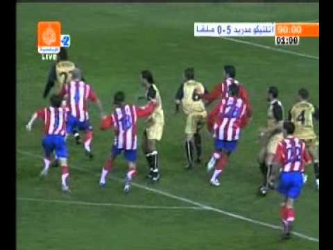 أتلكومدريد 5-0 ملقا - هدف رأسي رائع || Attlatic Madrid 5-0 Malaga - Brilliant header