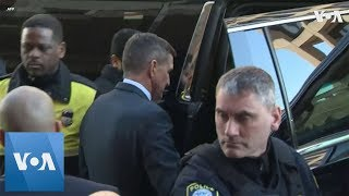 Flynn Leaves Court After Sentencing Postponed - VOAVIDEO