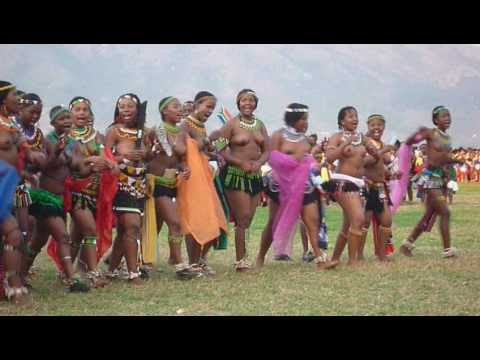 Umhlanga 2009 Reed Dance Swaziland.avi