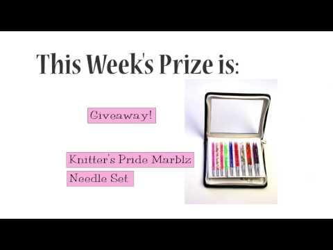 Winner Announced!  Knitter's Pride Marblz Needle Set