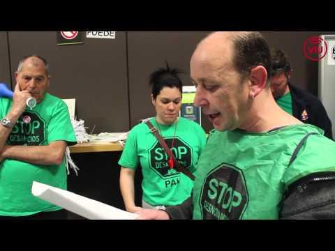 Manifest PAH Molins de Rei acció Bankia abril 2015