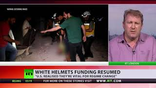 US releases 6.6$mn for White Helmets, UN agency - RUSSIATODAY