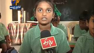 Learning Telugu Poems Is The Prime Thing In This School - ETV2INDIA