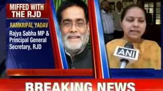 Misa Bharti goes to meet Ram Kripal Yadav - NEWSXLIVE
