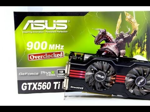Review: ASUS GTX 560 Ti DirectCU II Top 1GB Video Card