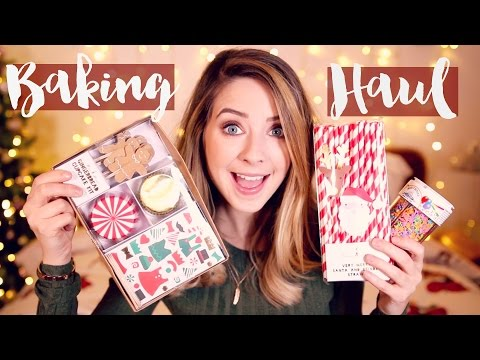 Baking Haul | Zoella