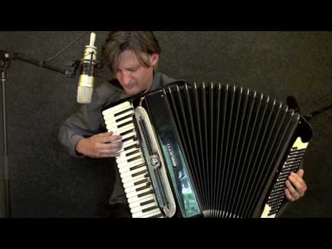 Anthony Schulz on the stradella and free bass accordion